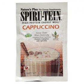 Spirutein Capuccino 32Gr sobres Nature'S Plus