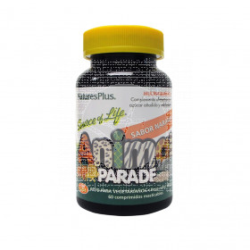 Animal Parade Multivitaminico sabor Naranja 60 comprimidos Nature'S Plus