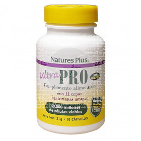 Ultra Probiotics 30 capsulas Nature'S Plus