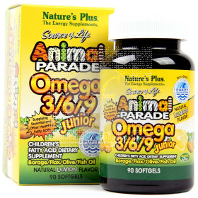 Animal Parade Omega 369 Junior Nature'S Plus