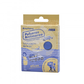 Pulsera Antimareo Azul Venpharma