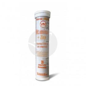 Vitamina C+Zinc NutriDX efervescente 20comp. Ynsadiet