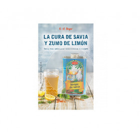 LIBRO LA CURA DE SAVIA Y ZUMO DE LIMON