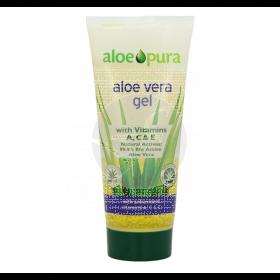 Gel aloe vera vitaminas y antioxidantes Aloe Pura