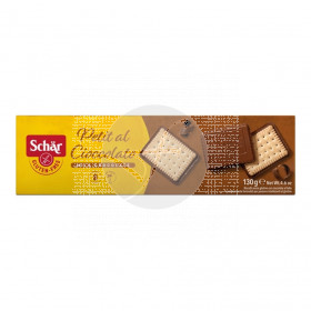 Petit Al Cioccolato Galletas con Chocolate sin gluten 130Gr Dr. Schar