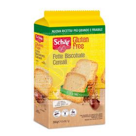 Fette Biscottate Cereali Biscotes con Cereales 250 Gr Dr. Schar