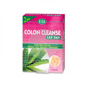 COLON CLEANSE ALOE VERA CAJA ROSA ESI TREPAT DIET