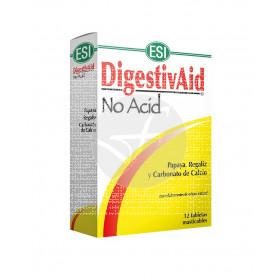 Digestivaid No Acid 12 comprimidos masticables Esi Trepat-Diet