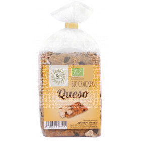Crackers de Queso 200gr Sol Natural