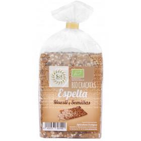 Crackers De Espelta Muesli y Semillas Bio Solnatural