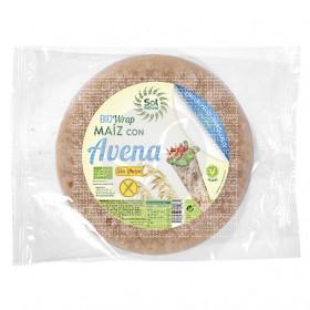 Wrap Maiz y Avena Bio sin gluten Solnatural