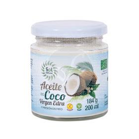 Aceite de coco virgen extra bio 200ml Solnatural