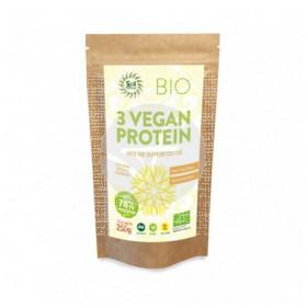 3 Vegan Protein Biológico 250gr Solnatural