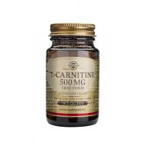 Carnitina Comprim 500Mg 30Comp Solgar