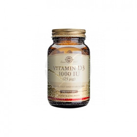 Vitamina D3 1000Ui 25Mcg Solgar