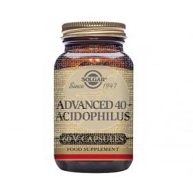 40+ Acidophilus Avanzado 60 capsulas Solgar