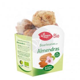 Galletas Bioartesanas con Almendras Granero Integral
