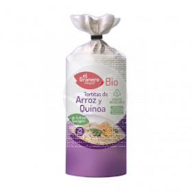 Tortitas De Arroz y Quino Bio Granero integral