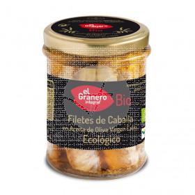 Filetes de Caballa Aceite de Oliva Virgen Extra Eco Granero integral