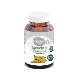 Extracto de Curcuma con Pimienta 60 capsulas Granero Integral
