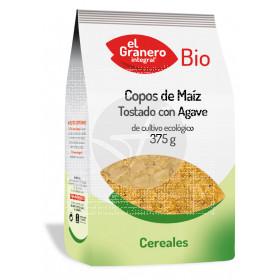 Copos de maíz tostado con agave Bio Granero Integral