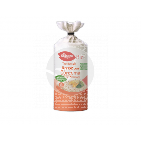 Tortitas De Arroz con Curcuma y Pimienta Bio Granero integral