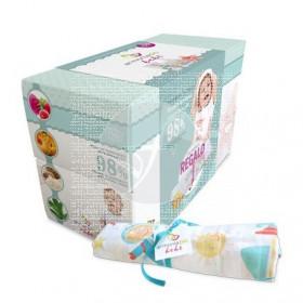 Pack cofre regalo bebe niño eco Armonia