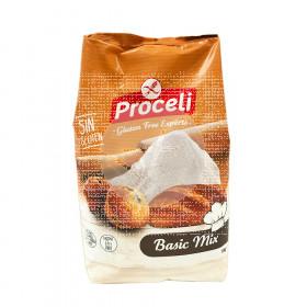Preparado Panificable Basic Mix sin gluten Proceli