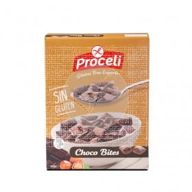 Cereales Choc Bites Rellenos De Crema De Avellanas 225Gr Proceli