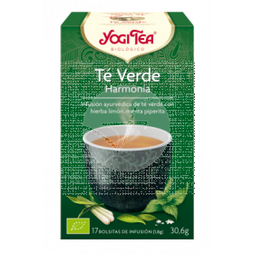 Té verde Harmonía Infusión Bio Yogi Tea