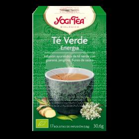 Té verde Energía infusión bio Yogi Tea