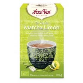 Té verde Matcha Limón Infusión Bio Yogi Tea