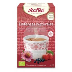 Té defensas naturales bio Yogi Tea