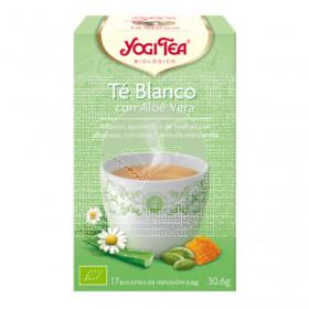 Té Blanco con Aloe Vera Bio Yogi Tea