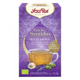 Infusion para los sentidos Felices Sueños Bio Yogi Tea