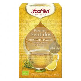 Infusion para los sentidos Absoluto Placer Bio Yogi Tea