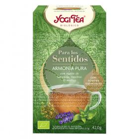 Infusion para los sentidos Armonia Pura Bio Yogi Tea