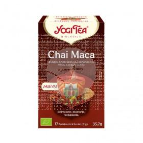 Chai Maca Organic Infusión Eco 17 Bolsitas Yogi Tea