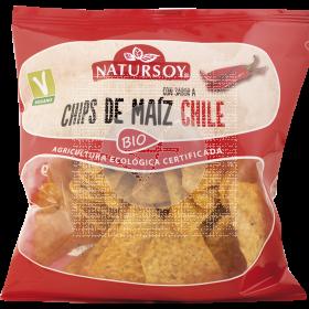 Chips De Maiz Chili Bio Natursoy
