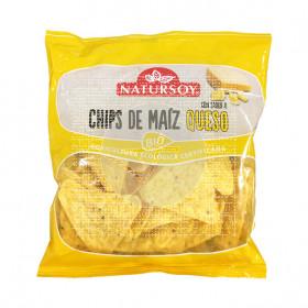 Chips De Maiz sabor Queso Bio Natursoy