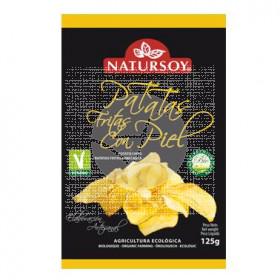 Patatas Chips con piel Bio Natursoy