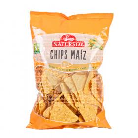Chips De Maiz Bio 125Gr Natursoy