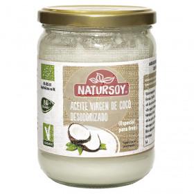 Aceite de coco virgen desodorizado bio Natursoy