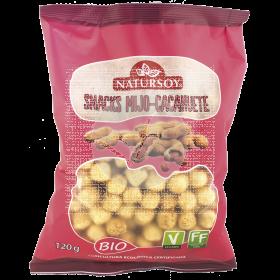 Snacks De Mijo y cacahuete Bio Natursoy