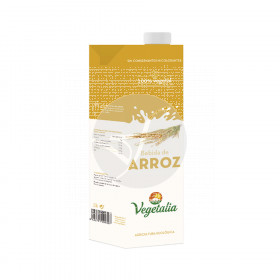 Bebida Vegetal De Arroz Bio 1L Vegetalia