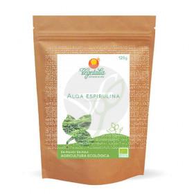Alga Espirulina polvo 125 Gr Bio Vegetalia