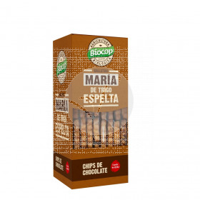 Galleta Maria Espelta con Chips De Chocolate 177gr Biocop