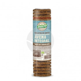Galletas De Copos De Avena integral con Chips De Chocolate Bio Biocop