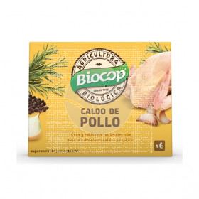 Cubitos De Caldo De Pollo Bio Biocop