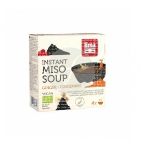 Sopa De Miso con Jengibre Instantanea Lima